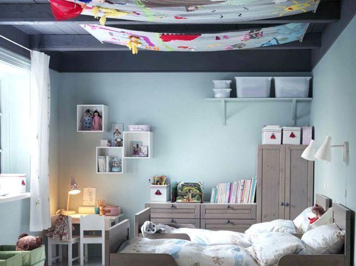 Chambre garcon deco plafond