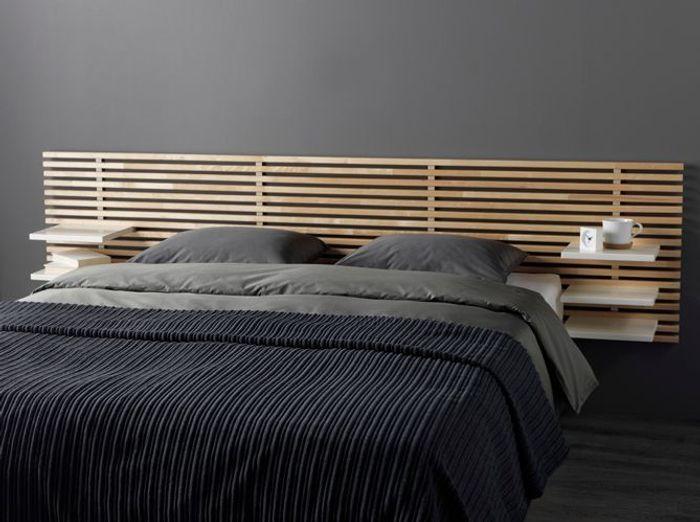 Une tête de lit pratique