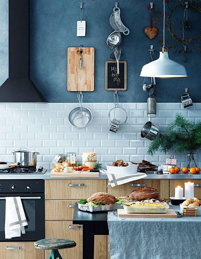 Cuisine bleue Ikea