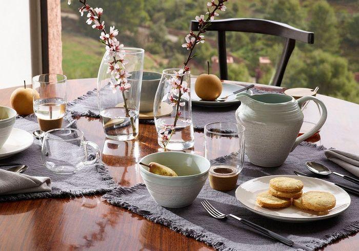 Une déco de table d'été zen