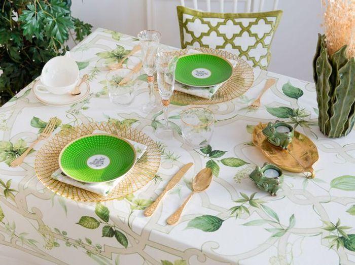 Insérez des touches végétales sur votre déco de table champêtre