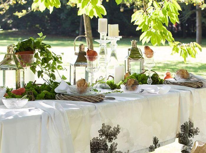 Optez pour une déco nature sur votre table champêtre