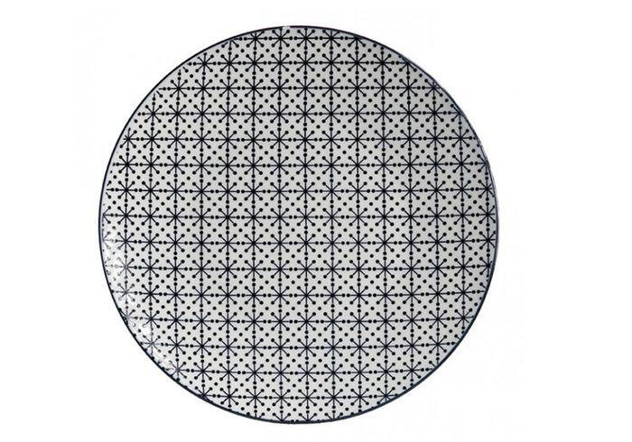 Vaisselle design une assiette moderne