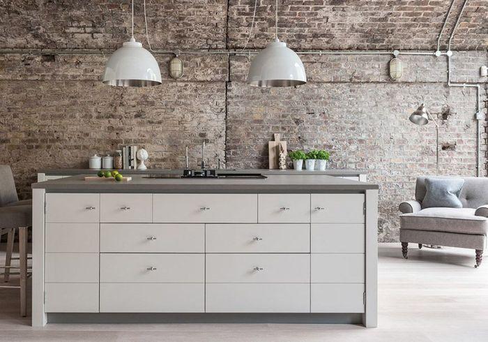 Une cuisine campagne aux touches design