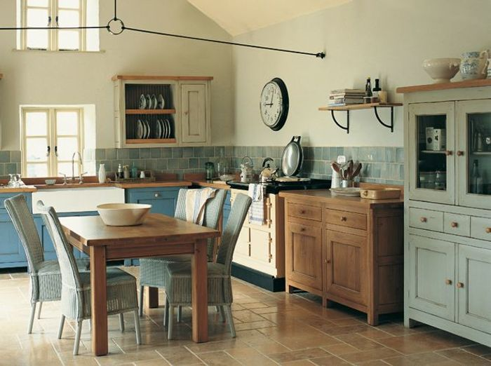Une cuisine campagne qui sent bon la Provence