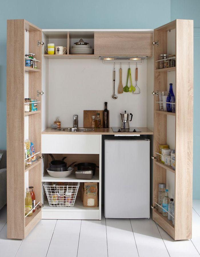 Toutes nos astuces déco pour aménager une petite cuisine - Elle ...