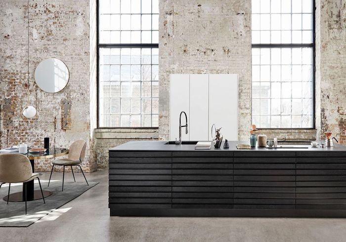 Une cuisine ouverte très design