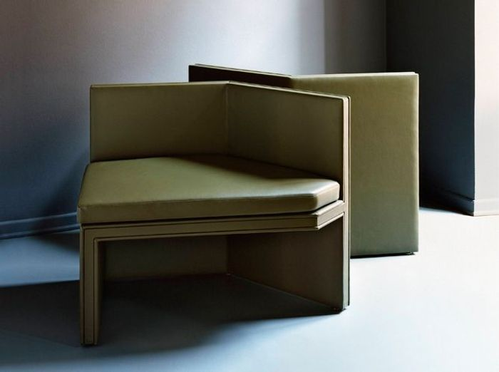 Un petit canapé d'angle