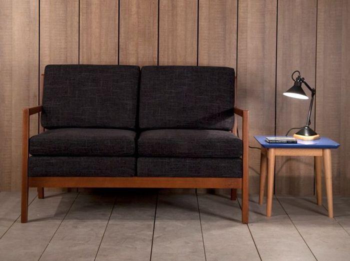 Un petit canapé vintage