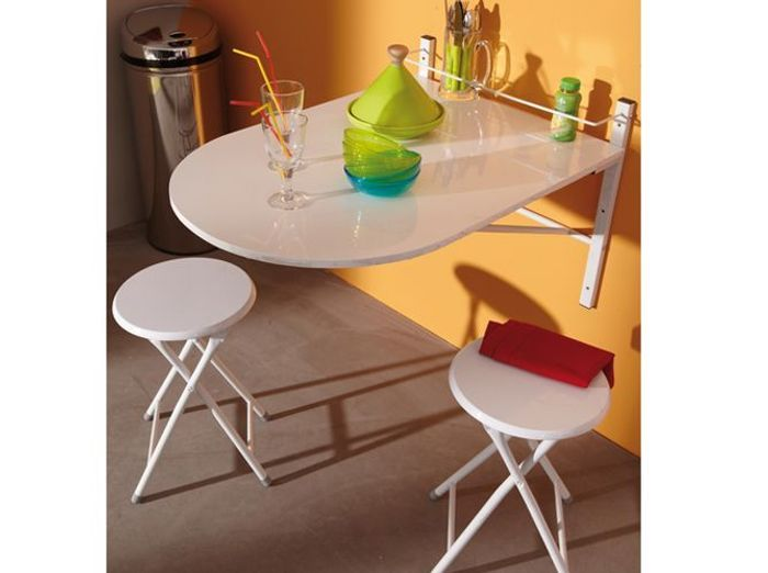 Table murale repliable 3 suisses