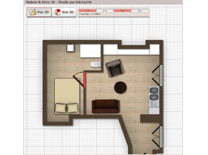 Le projet 3D de Lolo2a256