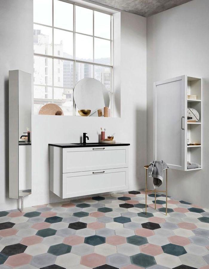 35 salles de bains design elle d coration. Black Bedroom Furniture Sets. Home Design Ideas