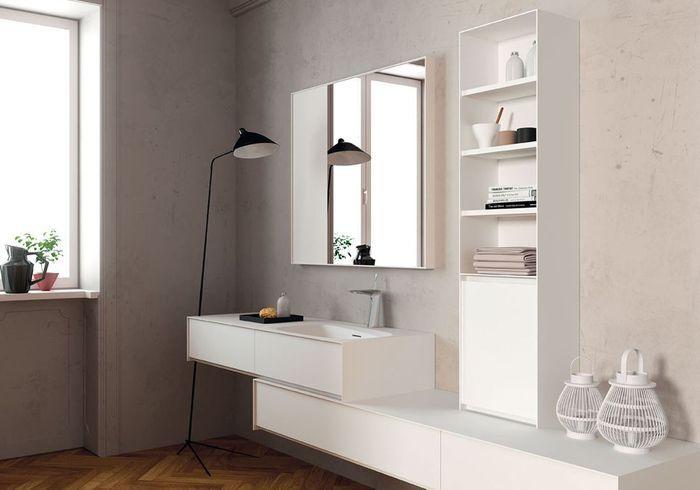 meuble de salle de bain porcelanosa - 35 salles de bains design elle d coration