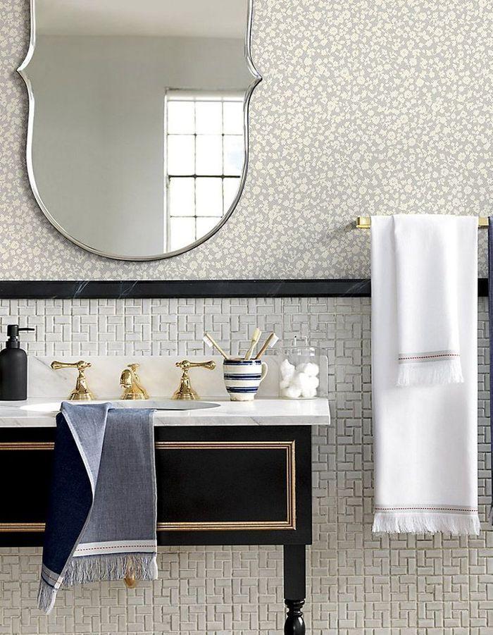 Voici les plus jolis miroirs de salle de bains elle for Ampm salle de bain