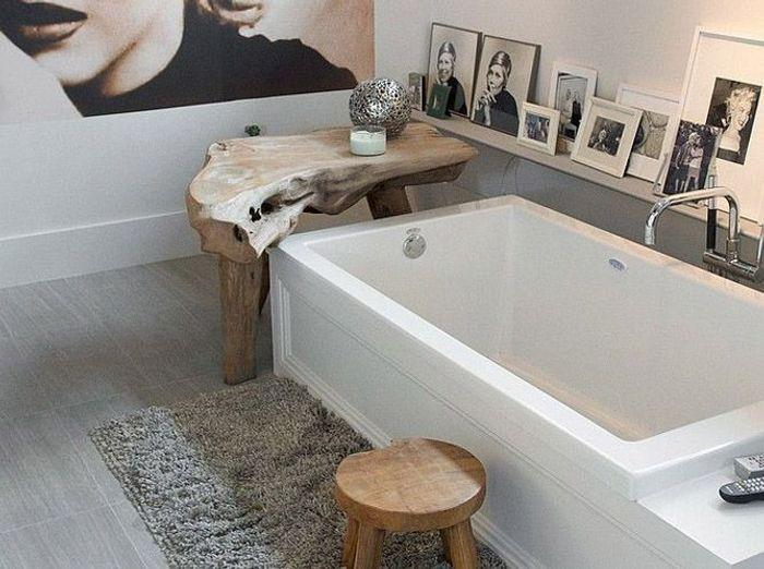 15 id es d co pour une jolie salle de bains elle d coration. Black Bedroom Furniture Sets. Home Design Ideas
