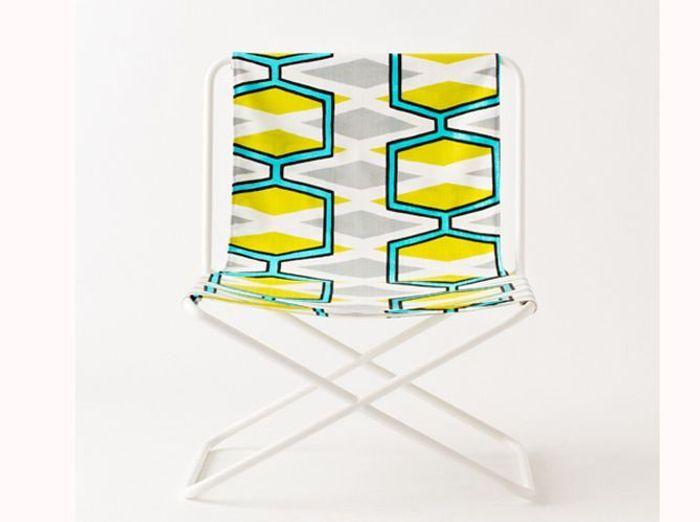 Colonel fauteuil pliable plastique