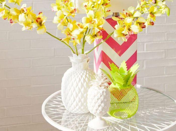 Zara home vase ananas