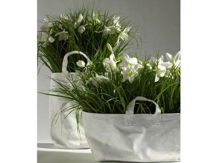 Lilis grand sac canvas pot de fleurs