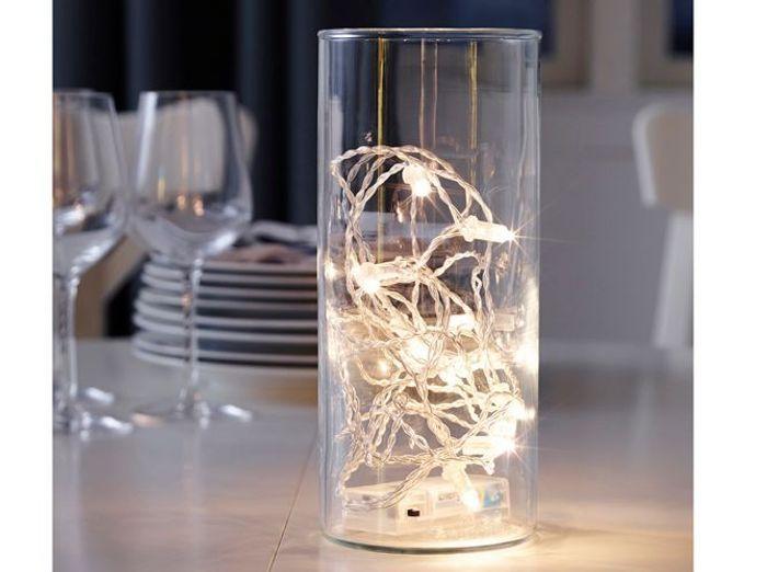 Une guirlande lumineuse minimaliste