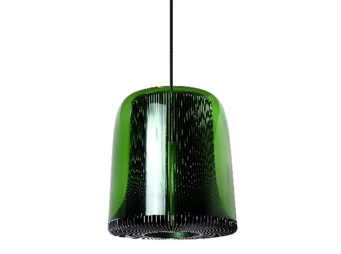 Un suspension design vert forêt