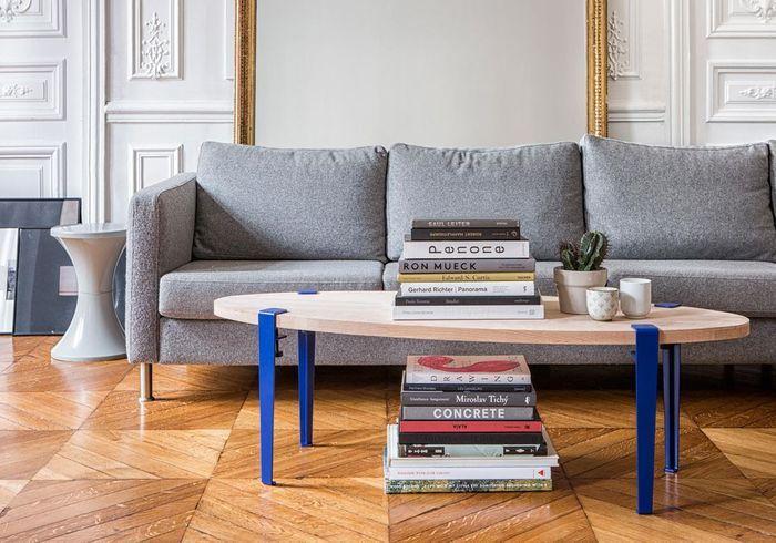 Table basse en bois personnalisable