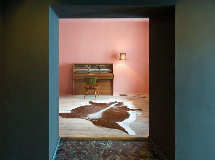 Une peinture rose de Le Corbusier pour mon salon