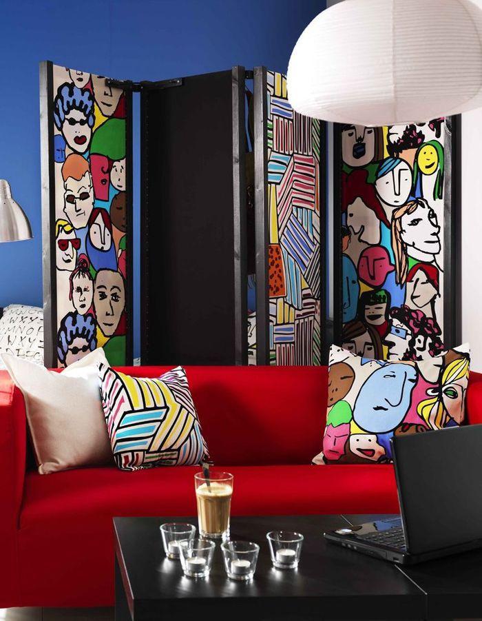 50 tissus d ameublement qui nous inspirent elle d coration - Ikea tissus d ameublement ...
