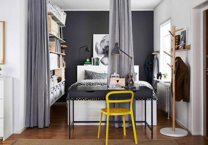 Séparer les espaces via des rideaux