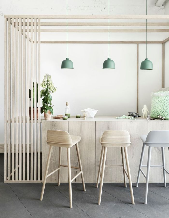 Séparer les espaces via une structure ajourée