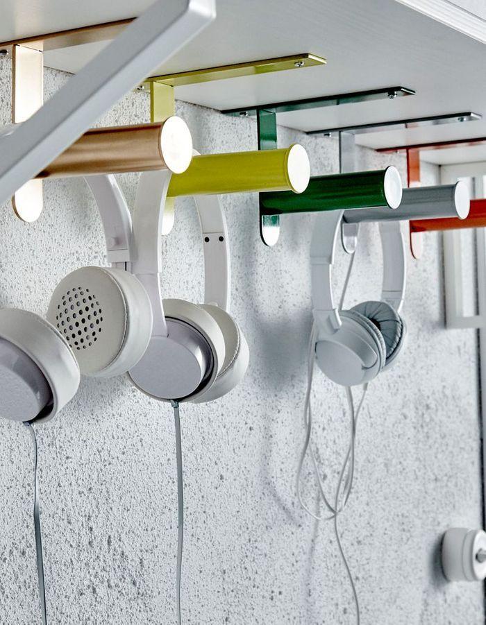 Des porte-rouleaux pour WC Ikea détournés en patères