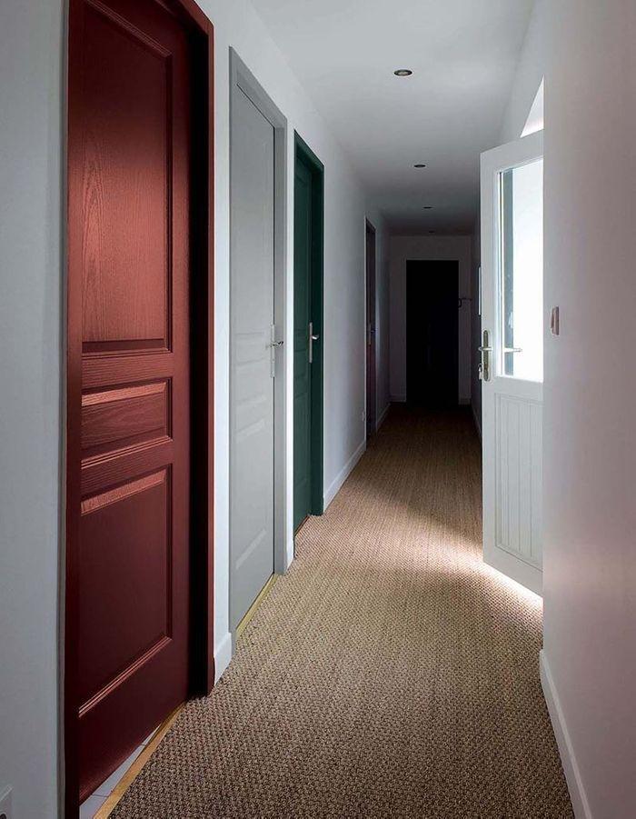Une porte colorée pour chaque pièce