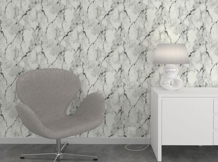Papier peint effet marbre