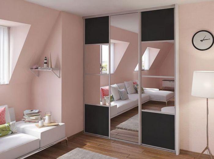 o acheter de jolies portes de placard elle d coration. Black Bedroom Furniture Sets. Home Design Ideas