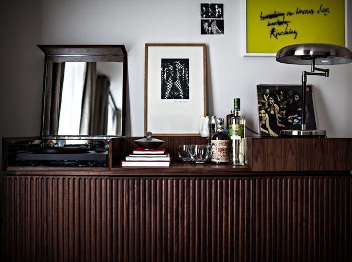 Vieux meuble commode vintage