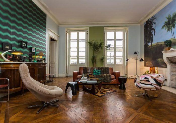 «Appartement à la déco mix & match à Bordeaux