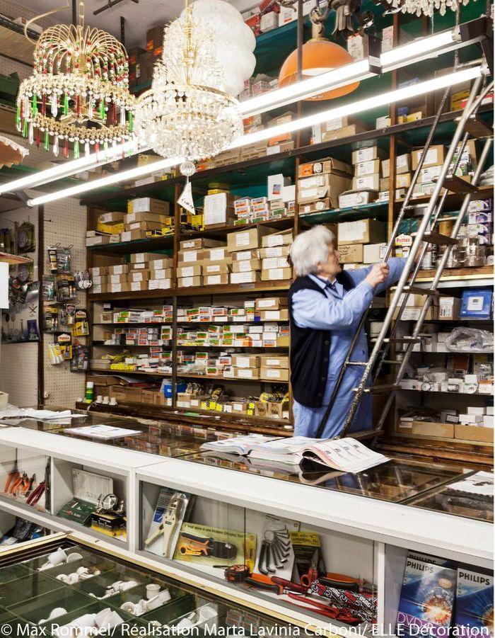 Elettricità Comoretto, boutique d'antan