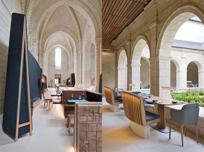 L'hôtel l'Abbaye de Fontevraud àFontevraud-l'Abbaye
