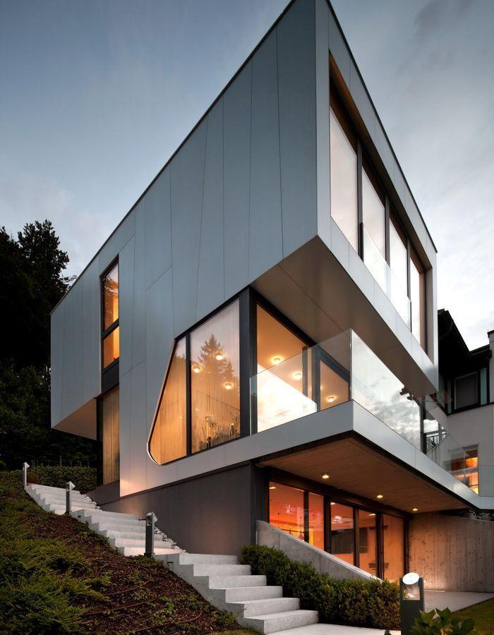 Une maison d'architecte démesurée en Autriche