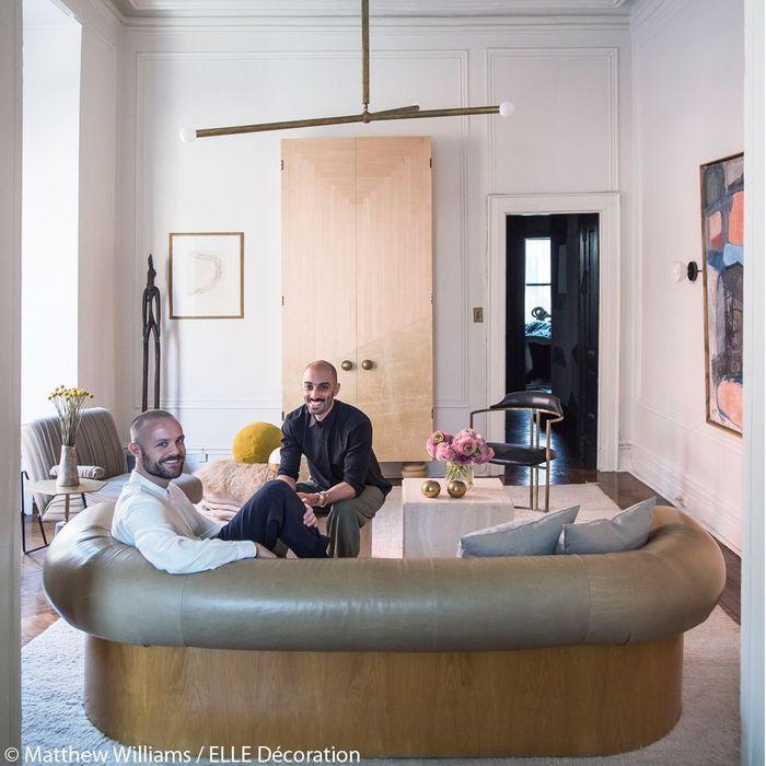 Les designers dans leur salon