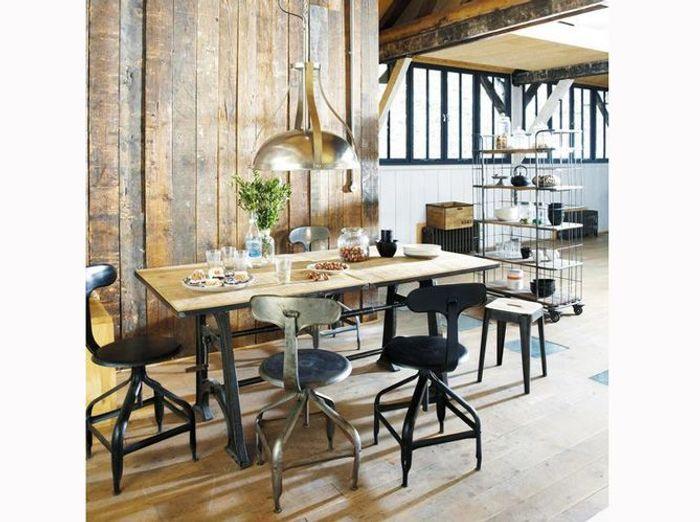Un loft en bois à l'esprit rustique