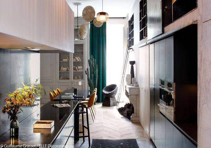 Une cuisine-salle à manger conviviale