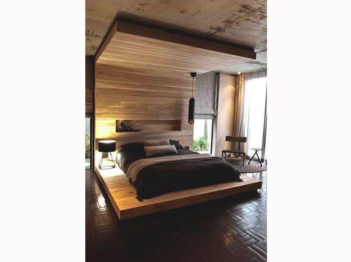 Une chambre de chalet ultramoderne