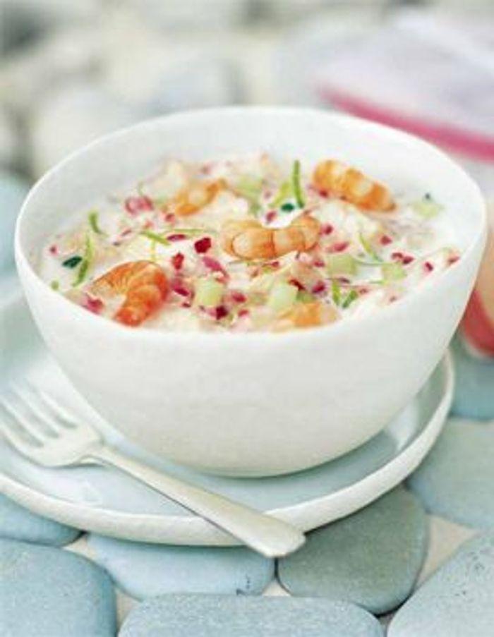 Ceviche de rascasses et fruits de mer