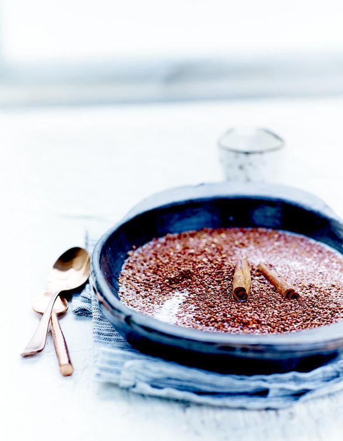 Notre menu 100% quinoa pour s'alléger