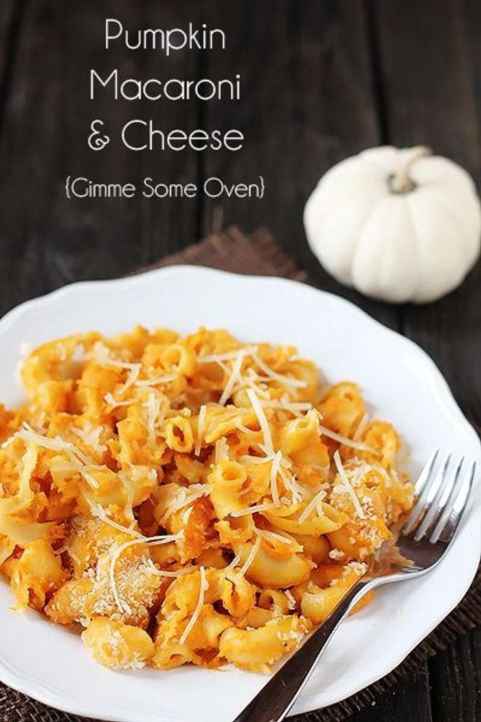 Mac and cheese au potiron