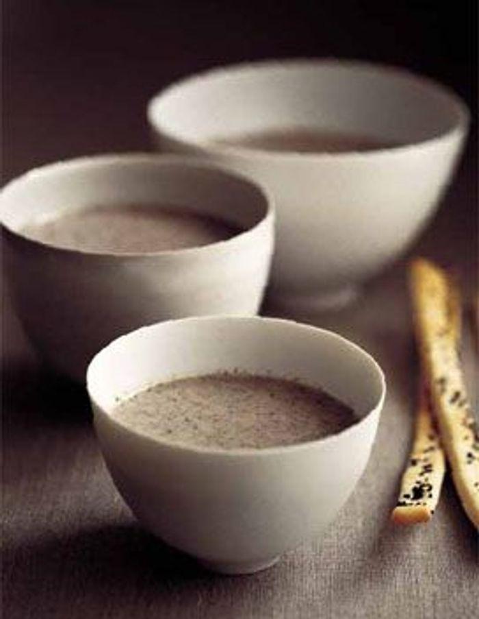 Soupe de marrons à la crème de raitfort