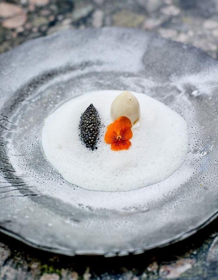 Bar de ligne, caviar, lait ribot de mon enfance