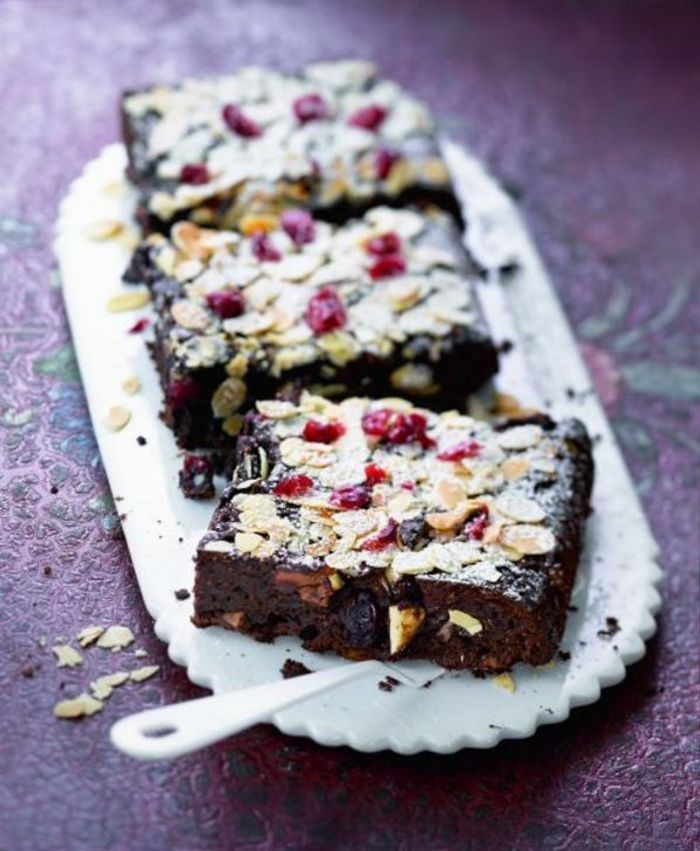 Brownies aux fruits secs