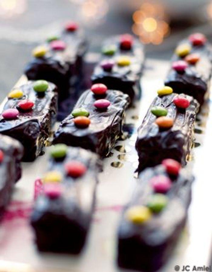 Bûchettes fondantes au chocolat