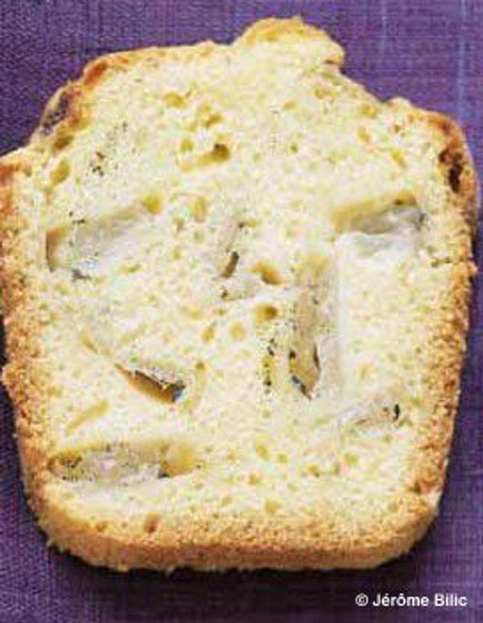 Cake aux poires à la vanille
